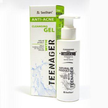 Анти Акне Teenager Измиващ гел 125 мл- натурален продукт, с поморийска луга