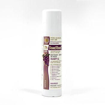Олио за коса с морски водорасли и масло от гроздови семки, за подхранване и заздравяване, Мавруд 200 мл.