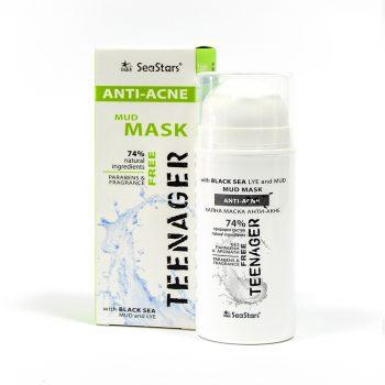 Анти Акне  Кална маска – натурален продукт с поморийска кал и масло от черен кимион-100 мл