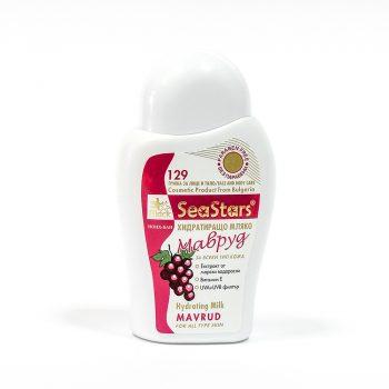 Мляко за почистване и хидратация с морски водорасли и екстракт грозде – Мавруд 200 мл.