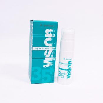 Нощен крем за чувствителна кожа 35+ с морски водорасли – VISION